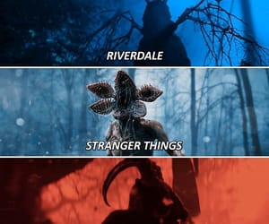 caos, riverdale, and stranger things image