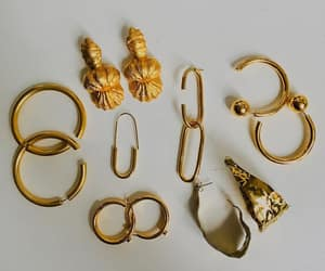accessories, earrings, and aesthetic image