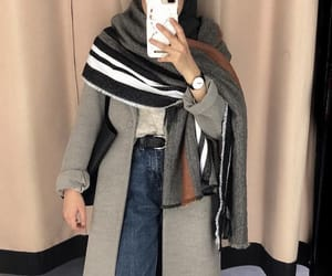 autumn, ootd, and hijabiselegant image