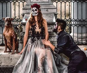 costume, makeup, and méxico image