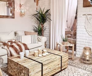 bohemian, home, and interior design image
