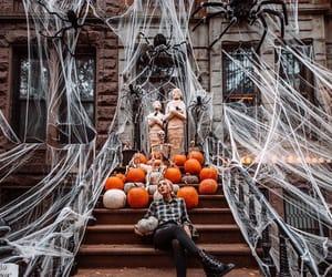 autumn, Halloween, and orange image