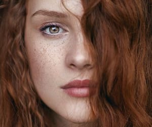 beauty, redhead, and girl image