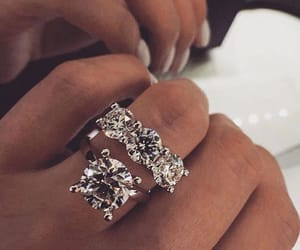 rings, luxury, and style image