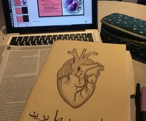 anatomy, books, and coffee image