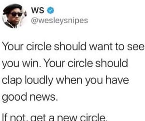 circle, quotes, and social networks image
