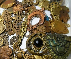 etsy, rare antique, and antique brass lot image