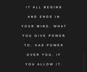 black and white, empowerment, and mind image