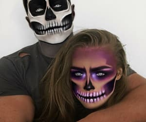 boy, makeup, and spooky image