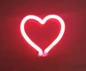 heart, layout, and neon image
