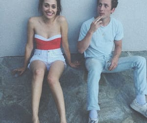 shameless, emmy rossum, and jeremy allen white image