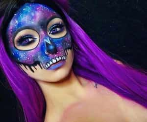 Halloween, idea, and makeup image