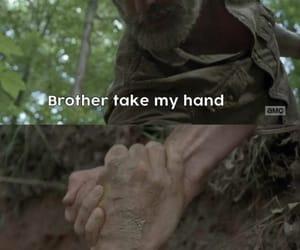 brothers, rick, and walking dead image