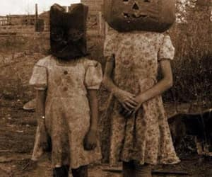 Halloween, creepy, and pumpkin image