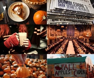 autumn, harry potter, and apple image