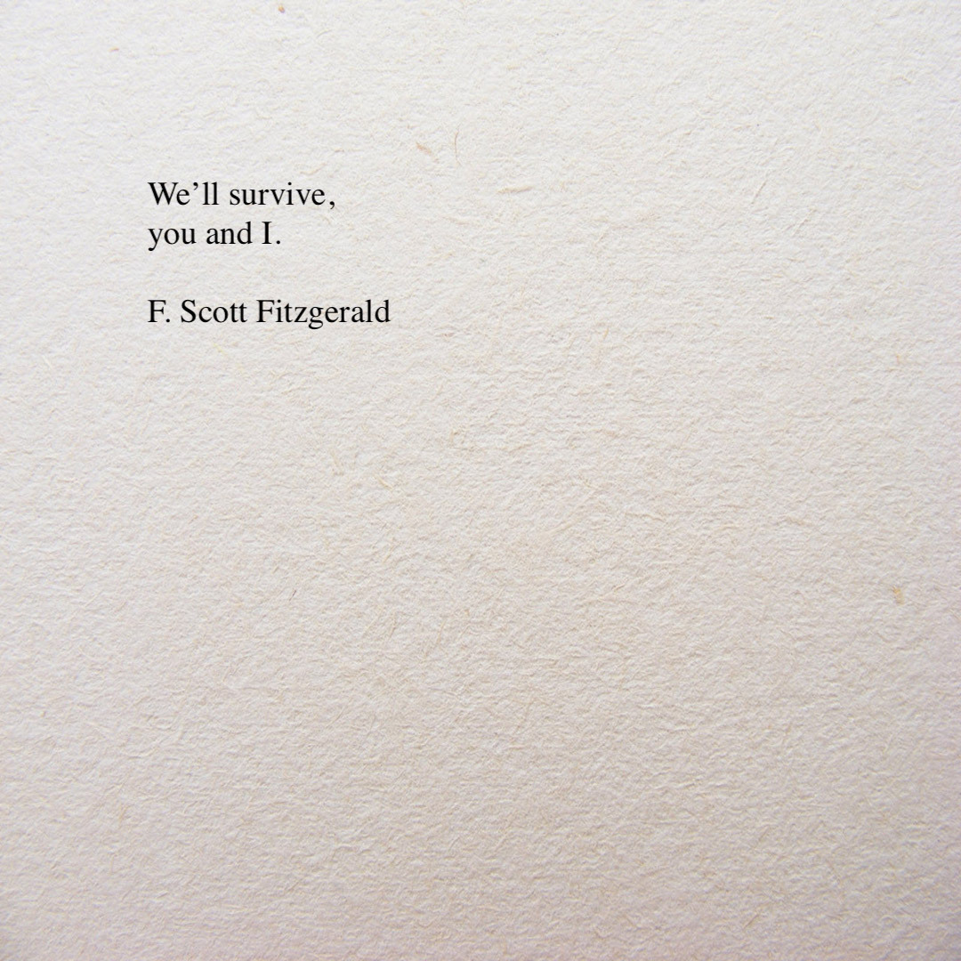 F. Scott Fitzgerald / More Than Just a House on We Heart It