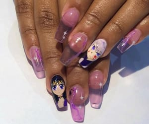 anime, nails, and cute image