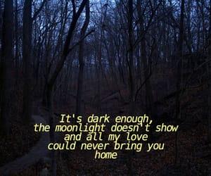 dark, sad, and tumblr image