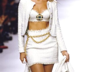 chanel, 90s, and white image
