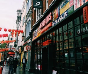 chinatown, city, and london image