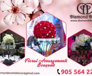 event planner, diamond decor, and event organizer image