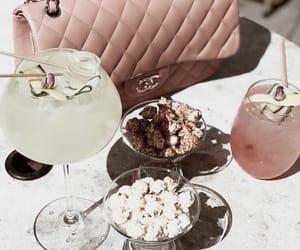 bag, drinks, and chanel image