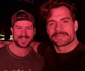 Henry Cavill and superman image