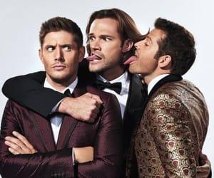 Jensen Ackles, supernatural, and jared padalecki image