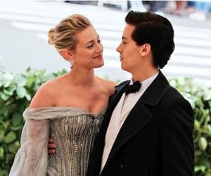 cole sprouse, met gala 2018, and couple image