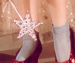 dorothy, shoes, and Wizard of oz image