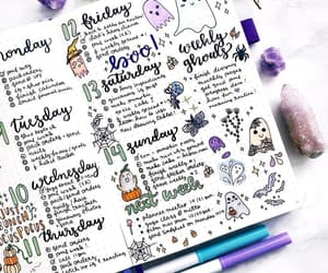 journaling, schedule, and violet image
