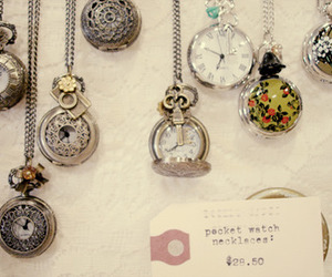 jewelry, watch, and necklace image