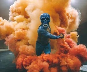 color, dead, and dia de muertos image