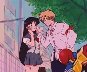 80's, anime, and anime couple image