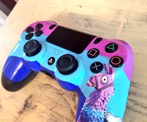art, colorful, and controller image