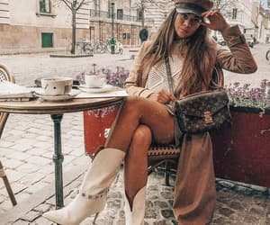 blogger, Louis Vuitton, and outfit image