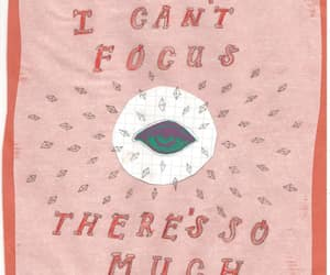 quotes, eye, and focus image