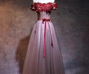 red prom dresses, prom dresses a-line, and prom dresses for cheap image