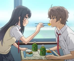 anime, couple, and japan image