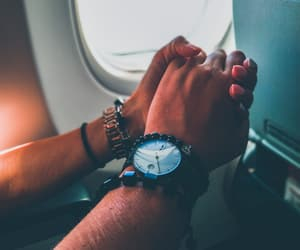 couple, hands, and holidays image
