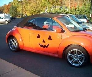 Halloween and Vw beetle image
