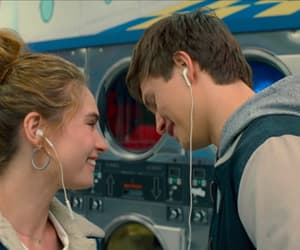 couple, movie, and ansel elgort image