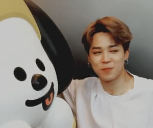 gif, jimin, and chimmy image