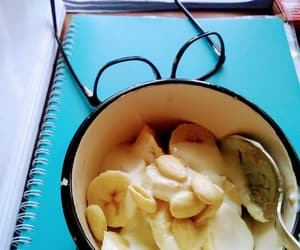 banana, books, and notes image
