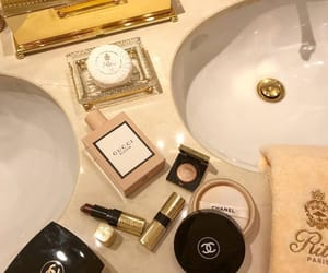 beauty, chanel, and gucci image