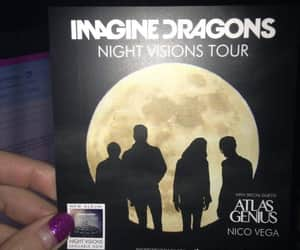 imagine dragons and night visions image