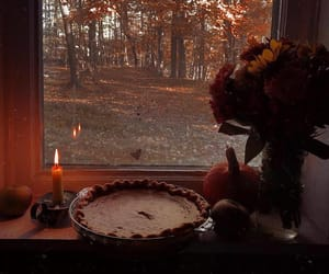 autumn, bakery, and candle image