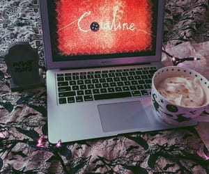 autumn, coffee, and coraline image
