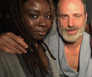 amc, andrew lincoln, and rick grimes image