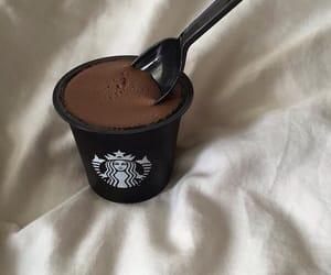 starbucks, chocolate, and food image